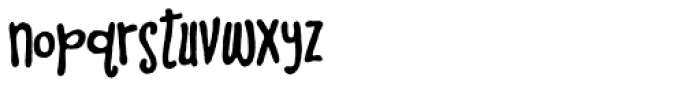 Iquory Font LOWERCASE