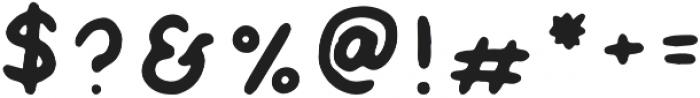 IRONHIDES Regular otf (400) Font OTHER CHARS