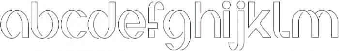 Irene ttf (100) Font LOWERCASE