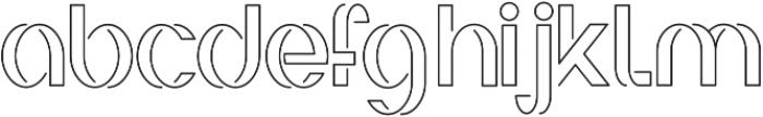 Irene ttf (300) Font LOWERCASE