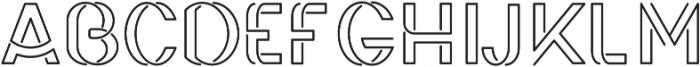 Irene ttf (700) Font UPPERCASE