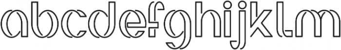 Irene ttf (700) Font LOWERCASE