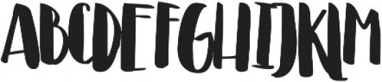 Irian ttf (400) Font UPPERCASE