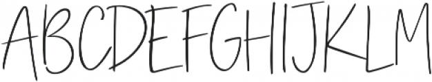 Iridescent otf (400) Font UPPERCASE