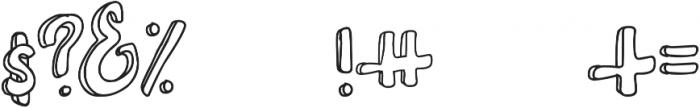 Irish Brogue otf (400) Font OTHER CHARS