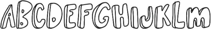 Irish Brogue otf (400) Font LOWERCASE