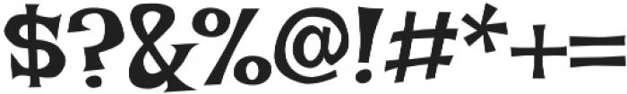 Irish Grover Pro Regular otf (400) Font OTHER CHARS