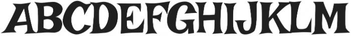 Irish Grover Pro Regular otf (400) Font UPPERCASE
