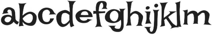 Irish Grover Pro Regular otf (400) Font LOWERCASE