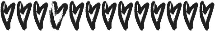 IriskaExtra otf (400) Font LOWERCASE