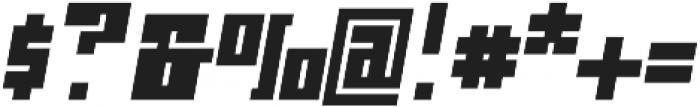Ironbrick otf (400) Font OTHER CHARS