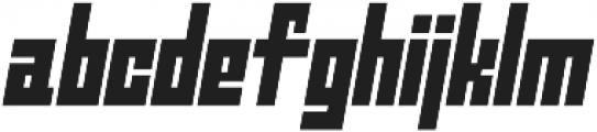 Ironbrick otf (400) Font LOWERCASE