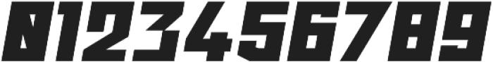 Ironfield CF Black Oblique otf (900) Font OTHER CHARS