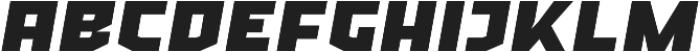 Ironfield CF Black Oblique otf (900) Font LOWERCASE