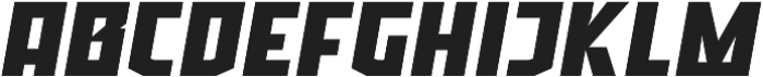 Ironfield CF Black Oblique ttf (900) Font UPPERCASE