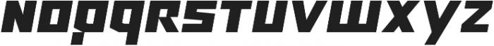 Ironfield CF Black Oblique ttf (900) Font LOWERCASE