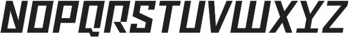 Ironfield CF Bold Oblique ttf (700) Font UPPERCASE