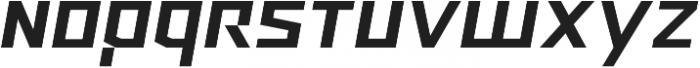 Ironfield CF Bold Oblique ttf (700) Font LOWERCASE