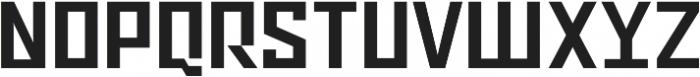 Ironfield CF Bold ttf (700) Font UPPERCASE
