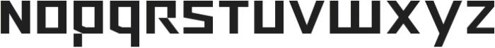 Ironfield CF Bold ttf (700) Font LOWERCASE