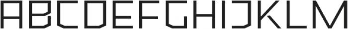 Ironfield CF Light ttf (300) Font LOWERCASE