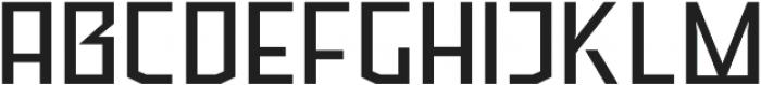 Ironfield CF otf (400) Font UPPERCASE