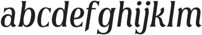 Irreverent Light Italic otf (300) Font LOWERCASE
