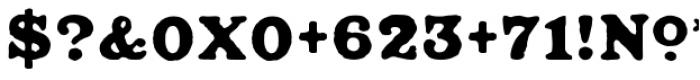 Ironbridge Font OTHER CHARS