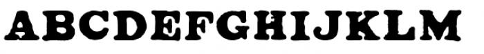 Ironbridge Font LOWERCASE