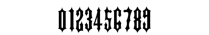 IRONGATE Font OTHER CHARS
