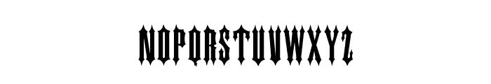 IRONGATE Font LOWERCASE