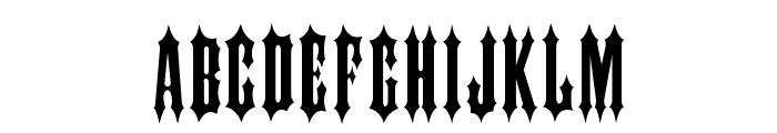 IRONWOOD-Medium Font UPPERCASE