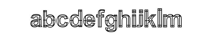 Irawan Font LOWERCASE