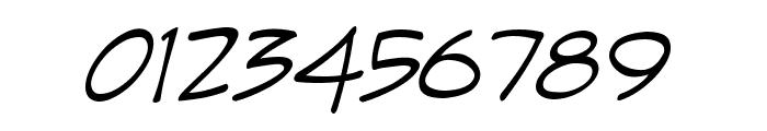 Irezumi Italic Font OTHER CHARS