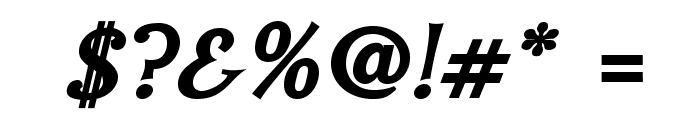 IrianisADFStd-BoldItalic Font OTHER CHARS
