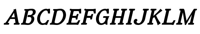 IrianisADFStd-BoldItalic Font UPPERCASE
