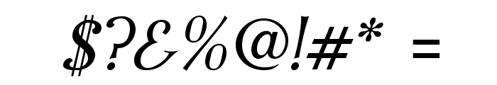 IrianisADFStd-Italic Font OTHER CHARS
