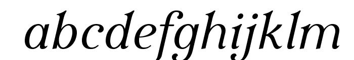 IrianisADFStd-Italic Font LOWERCASE