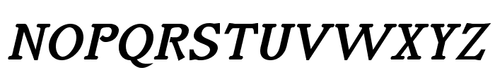 IrianisADFStyleStd-BoldItalic Font UPPERCASE