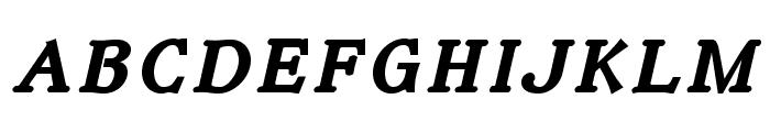 IrianisADFStyleStd-BoldItalic Font LOWERCASE