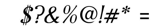 IrianisADFStyleStd-Italic Font OTHER CHARS