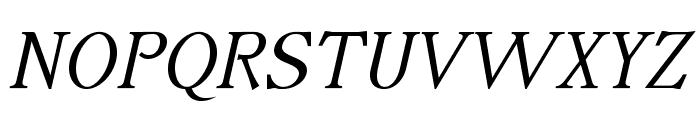 IrianisADFStyleStd-Italic Font UPPERCASE