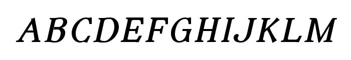 IrianisADFStyleStd-Italic Font LOWERCASE