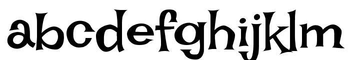 Irish Grover Font LOWERCASE