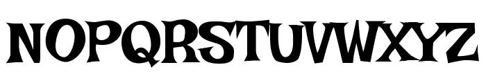 Irish Growler Font UPPERCASE