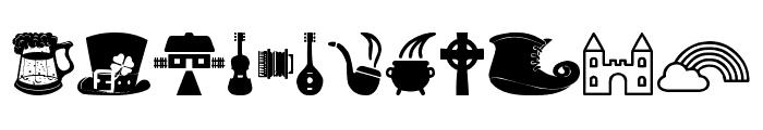 Irish Font OTHER CHARS