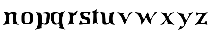 IrishJig Font LOWERCASE