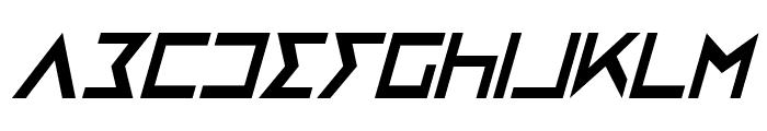Iron Cobra Condensed Italic Font LOWERCASE