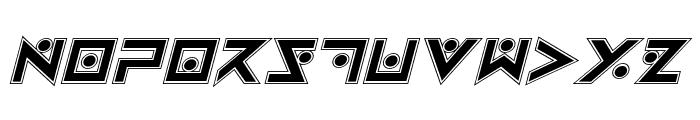 Iron Cobra Pro Italic Font UPPERCASE