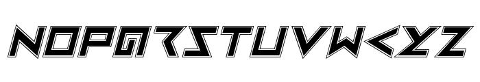 Iron Cobra Pro Italic Font LOWERCASE